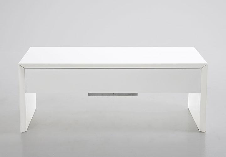 couchtisch dalos tisch in wei hochglanz mit hebefunktion ebay. Black Bedroom Furniture Sets. Home Design Ideas