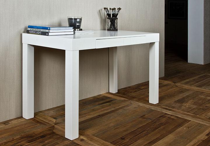 schreibtisch angela tisch b rotisch in wei matt lackiert. Black Bedroom Furniture Sets. Home Design Ideas
