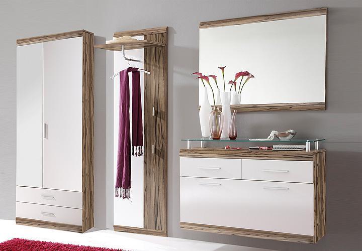 opera 4 tlg garderobenset i baltimore wei. Black Bedroom Furniture Sets. Home Design Ideas