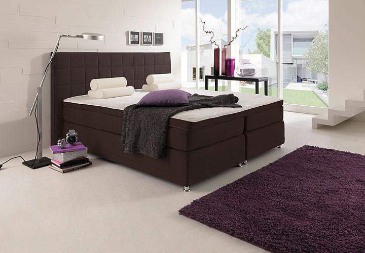 boxspring bett manhattan doppelbett inkl multipocket. Black Bedroom Furniture Sets. Home Design Ideas