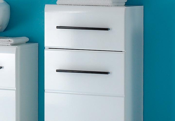 kommode maxon schrank badezimmerkommode in wei glanz. Black Bedroom Furniture Sets. Home Design Ideas