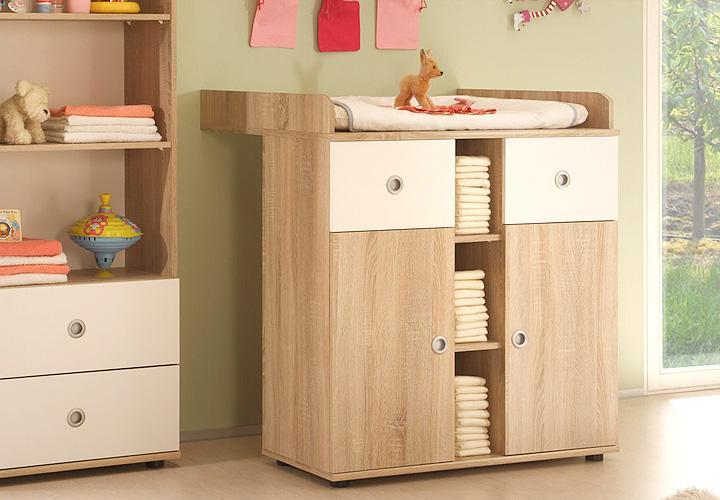 wickelkommode wiki babyzimmer in sonoma eiche s gerau. Black Bedroom Furniture Sets. Home Design Ideas