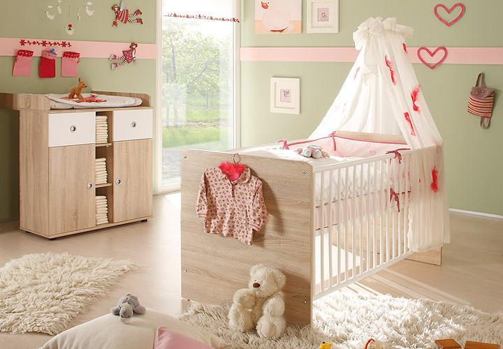 babyzimmer wiki 3 teilig sonoma eiche s gerau. Black Bedroom Furniture Sets. Home Design Ideas
