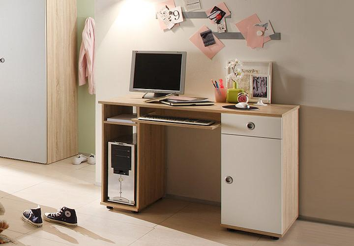 schreibtisch wiki computertisch in sonoma eiche s gerau. Black Bedroom Furniture Sets. Home Design Ideas