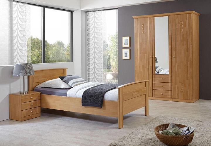 bett curanum buche samerberg verstellbar 100x200. Black Bedroom Furniture Sets. Home Design Ideas