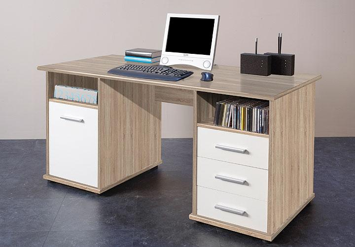 venta schreibtisch eiche sonoma. Black Bedroom Furniture Sets. Home Design Ideas