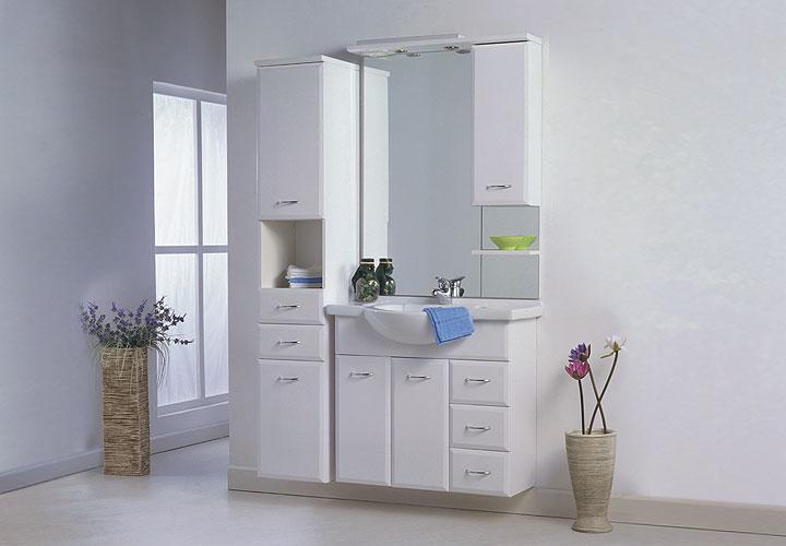 Badezimmer Regal Weiß : Badezimmer Regal Weiß Hochglanz : LASKO Badezimmer-Set Weiß ...