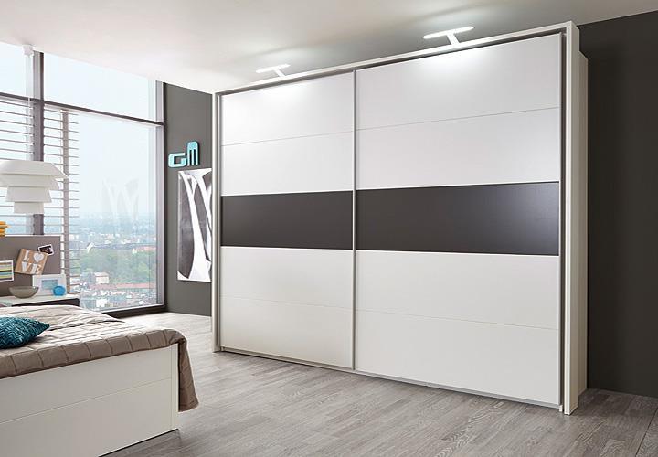 schwebet renschrank match 3 kleiderschrank schrank in wei und lava 315 cm ebay. Black Bedroom Furniture Sets. Home Design Ideas