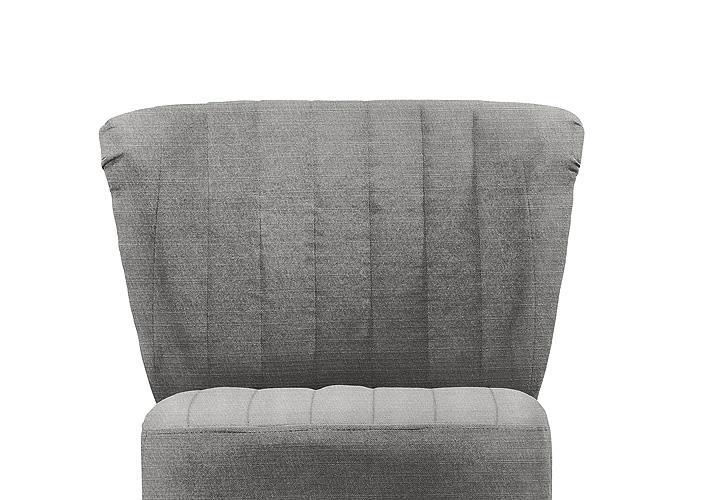 sessel marcel cocktailsessel silber grau eiche massiv dunkel. Black Bedroom Furniture Sets. Home Design Ideas