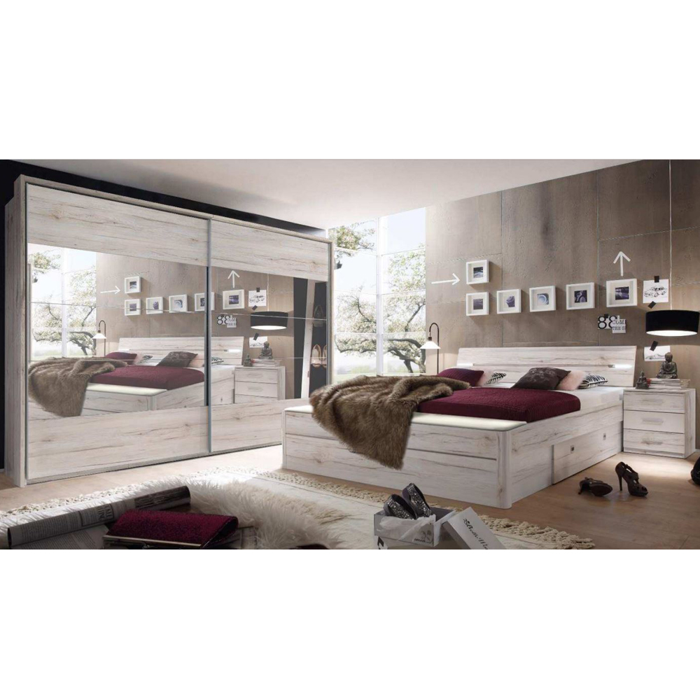 schlafzimmer set design bettw sche lavendel bettdecken origami kommode im schlafzimmer bei poco. Black Bedroom Furniture Sets. Home Design Ideas