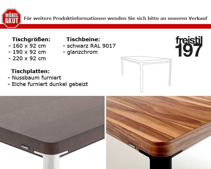 esstisch freistil 197 eiche dunkel gebeizt 190x92 cm tisch von rolf benz ebay. Black Bedroom Furniture Sets. Home Design Ideas