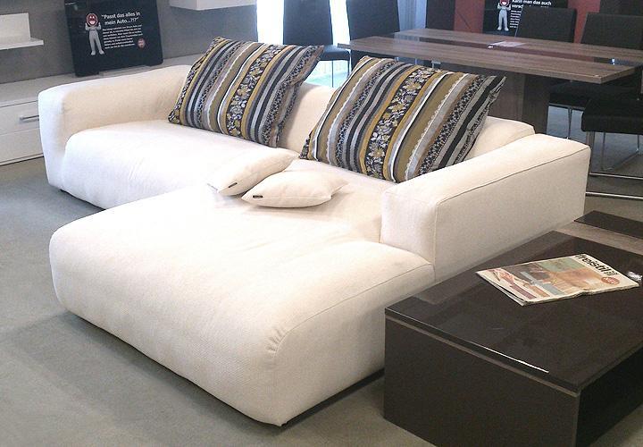 freistil 187 rolf benz sofakombination stoff elfenbein. Black Bedroom Furniture Sets. Home Design Ideas
