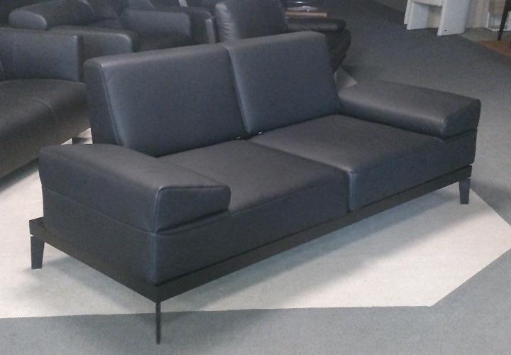 sofabank liege molto rolf benz leder schwarz. Black Bedroom Furniture Sets. Home Design Ideas