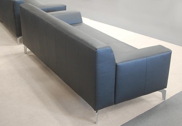 rolf benz sofabank neo sob300 223 leder schwarz. Black Bedroom Furniture Sets. Home Design Ideas