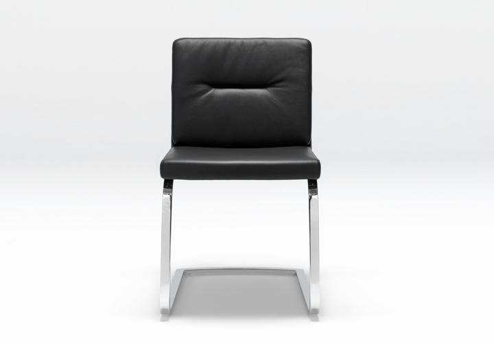 rolf benz freischwinger stu fs 625 leder schwarz. Black Bedroom Furniture Sets. Home Design Ideas