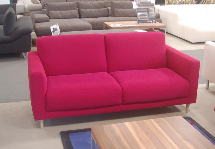 rolf benz sofa freistil 141 stoff violettrot. Black Bedroom Furniture Sets. Home Design Ideas