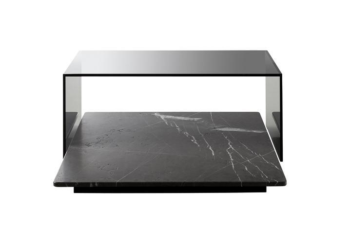couchtisch rolf benz 970 naturstein und glas 120x72 cm. Black Bedroom Furniture Sets. Home Design Ideas
