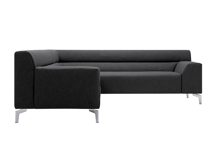 rolf benz ecksofa rechts neo sob300 stoff dunkelgrau. Black Bedroom Furniture Sets. Home Design Ideas