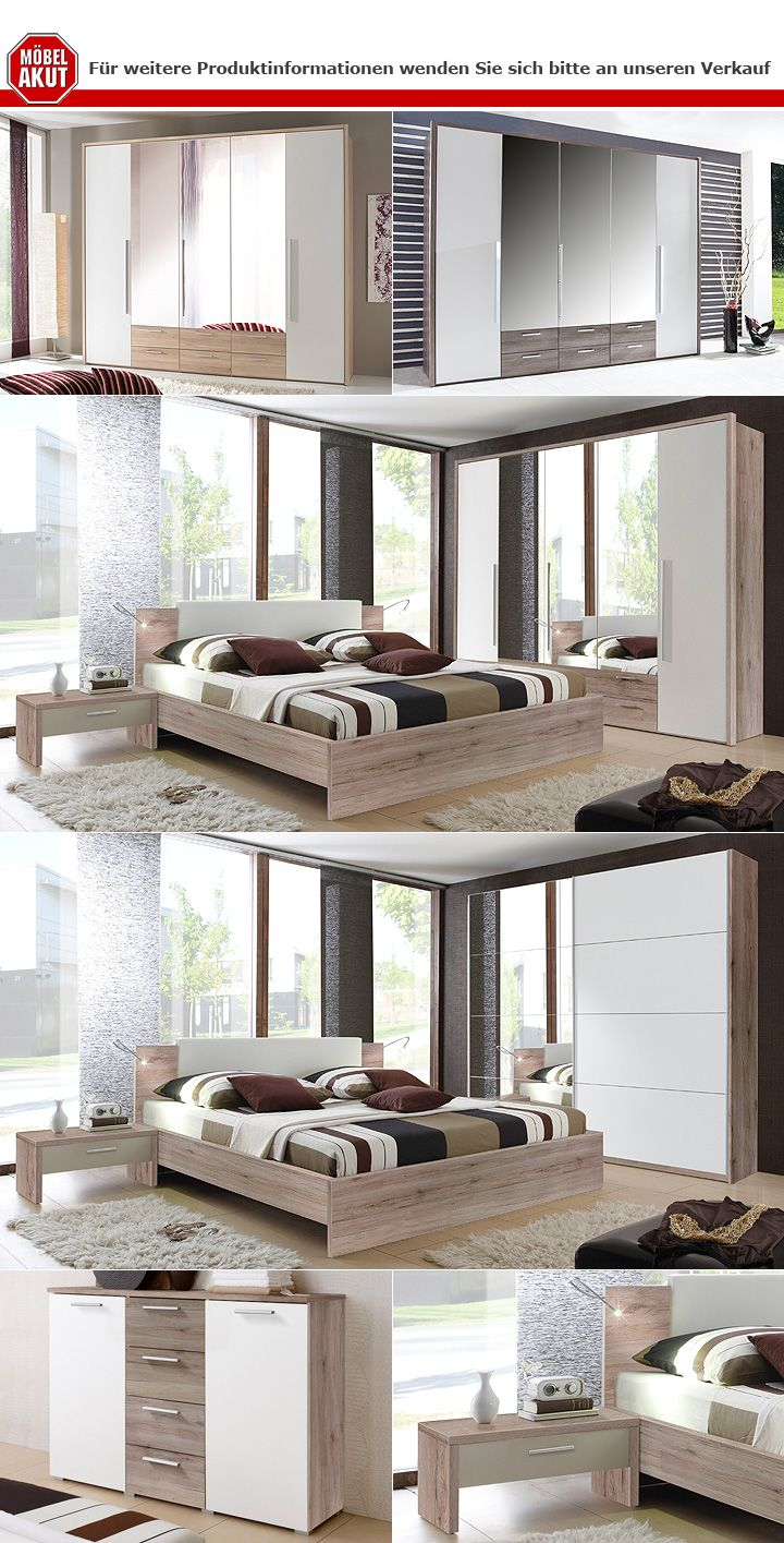 schwebet renschrank speedy sanremo eiche hell wei 220 cm. Black Bedroom Furniture Sets. Home Design Ideas