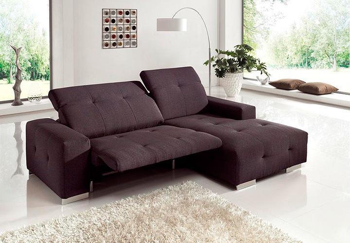 ecksofa francisco sofa lila mit elektrischer relaxfunktion 257 cm. Black Bedroom Furniture Sets. Home Design Ideas