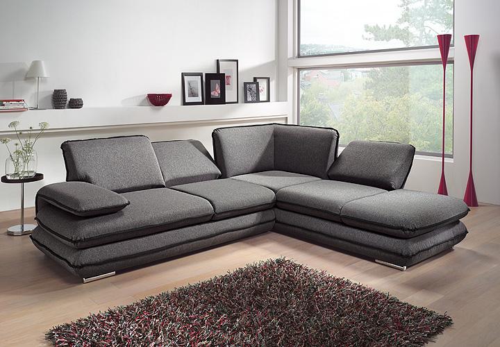 ecksofa turner sofa wohnlandschaft grau schwarz relaxfunktion 284 cm ebay