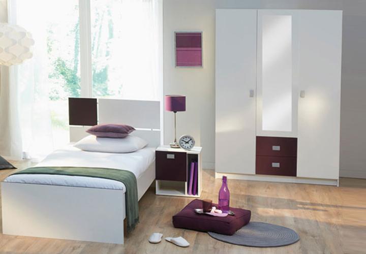 riba jugendzimmer wei lila. Black Bedroom Furniture Sets. Home Design Ideas