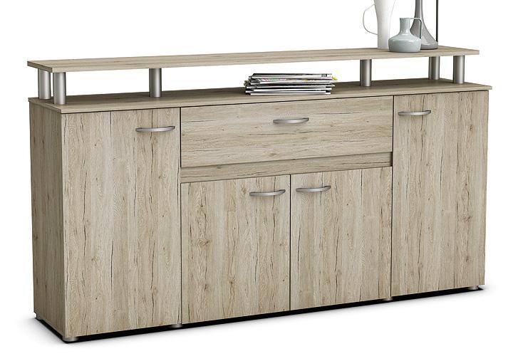 sideboard revolution anrichte kommode san remo eiche ebay. Black Bedroom Furniture Sets. Home Design Ideas