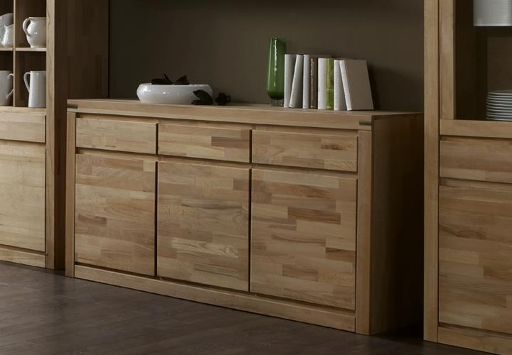 sideboard delft 2210 wildeiche massiv oberfl che ge lt. Black Bedroom Furniture Sets. Home Design Ideas