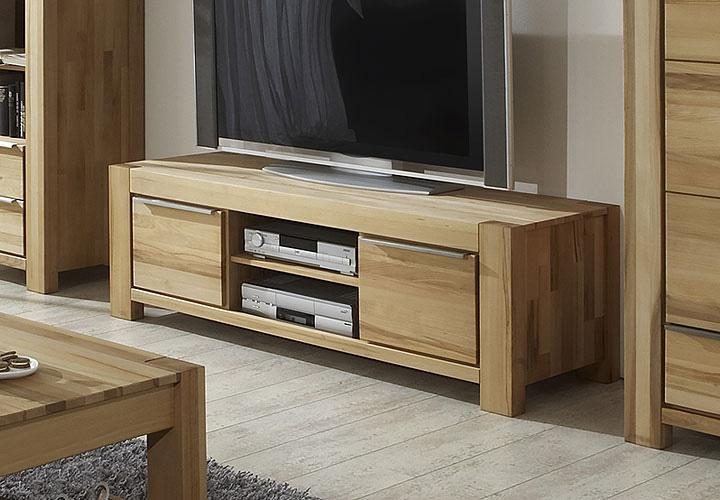tv board tesa lowboard kommode in kern buche massiv. Black Bedroom Furniture Sets. Home Design Ideas