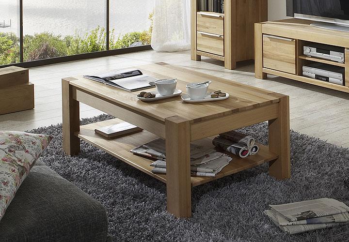 couchtisch nena kernbuche massiv ge lt. Black Bedroom Furniture Sets. Home Design Ideas