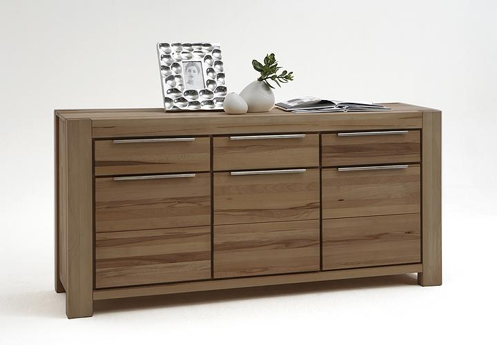 sideboard nena wildeiche massiv ge lt. Black Bedroom Furniture Sets. Home Design Ideas