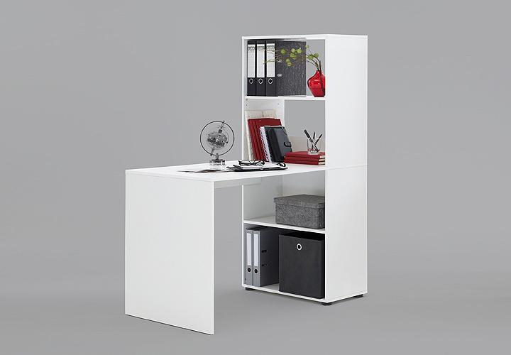 schreibtisch bente tisch regal computertisch schreibtisch kombi in wei ebay. Black Bedroom Furniture Sets. Home Design Ideas