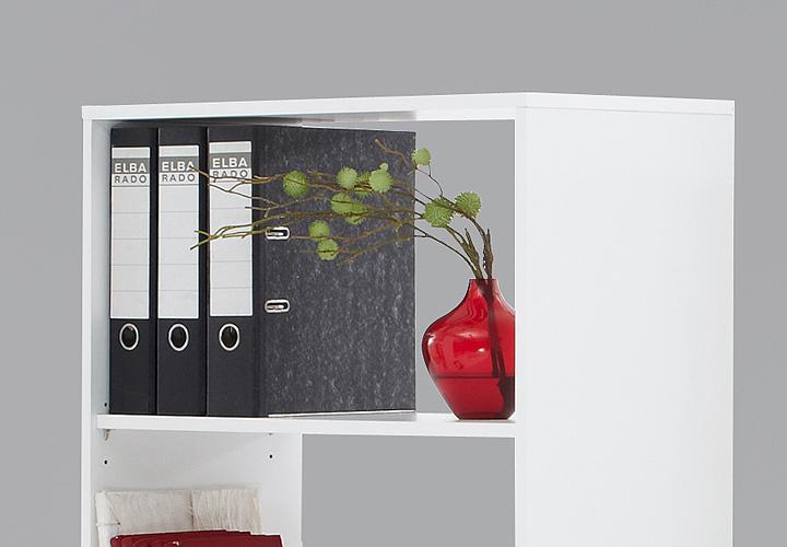 Esstisch Regal Kombi ~ Schreibtisch BENTE Tisch Regal Schreibtisch Kombi in weiß