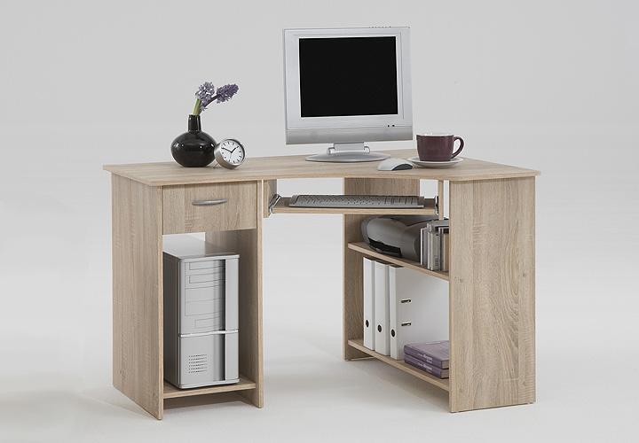 Sonoma Eiche Computertisch : Computertisch FELIX 1 Sonoma Eiche s?gerau