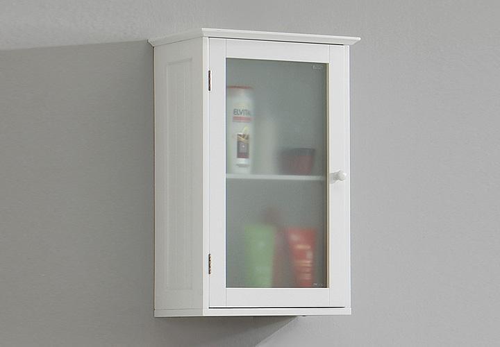 h ngeschrank stockholm schrank badezimmer in wei lack. Black Bedroom Furniture Sets. Home Design Ideas