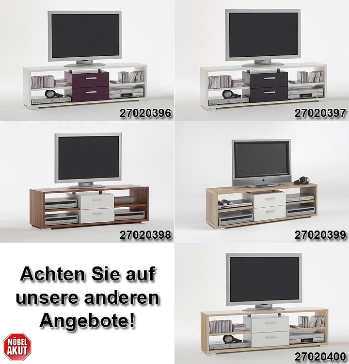 tv board nemo esche und wei. Black Bedroom Furniture Sets. Home Design Ideas
