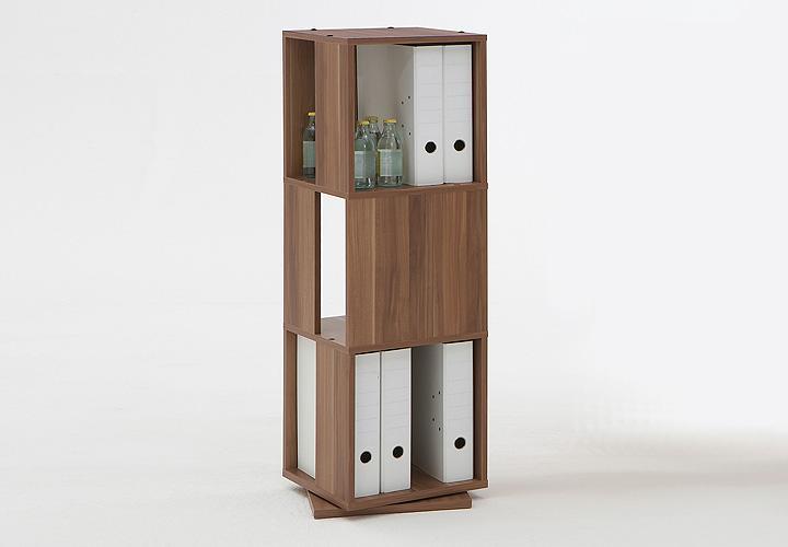 drehregal tower zwetschge. Black Bedroom Furniture Sets. Home Design Ideas
