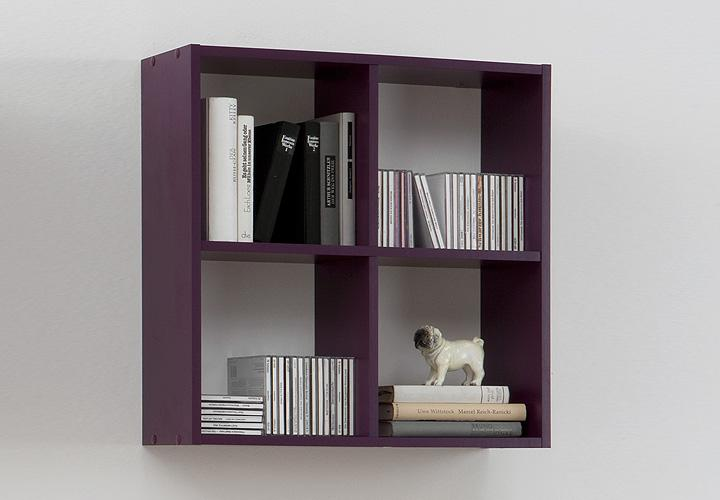 wandregal dori lila dekor. Black Bedroom Furniture Sets. Home Design Ideas