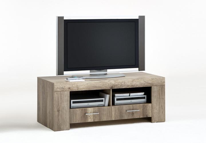 tv board mona lisa lowboard tv schrank in wildeiche dekor. Black Bedroom Furniture Sets. Home Design Ideas