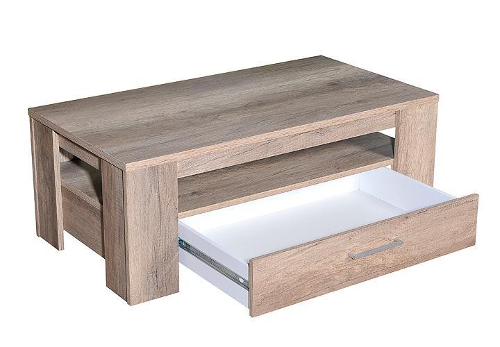 Couchtisch MONA LISA Beistelltisch Tisch in Wildeiche 110×59