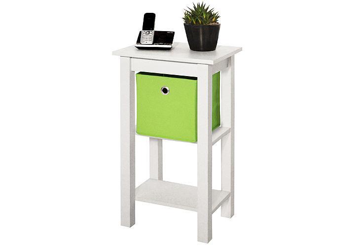 telefontisch hanna nachtkommode beistelltisch blumens ule. Black Bedroom Furniture Sets. Home Design Ideas