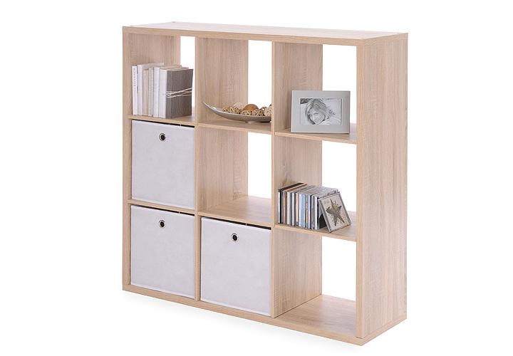 regal moritz 9 f cher raumteiler wei individuell einsetzbar. Black Bedroom Furniture Sets. Home Design Ideas