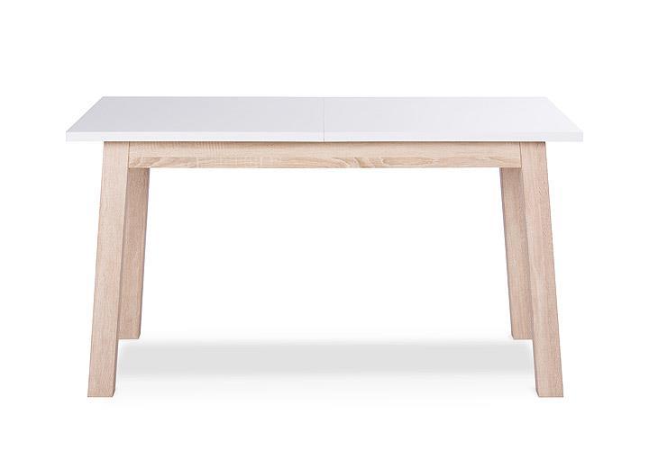 Esstisch APART weiß Sonoma Eiche ausziehbar 140-200x80 cm