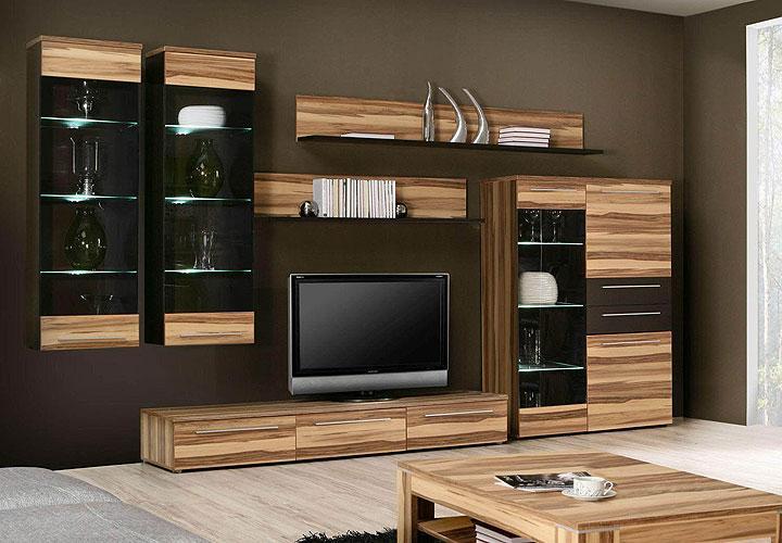 Design  wohnzimmer nussbaum schwarz ~ Inspirierende