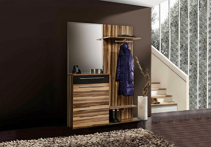 garderobenset savoy garderobe baltimore walnuss braun. Black Bedroom Furniture Sets. Home Design Ideas