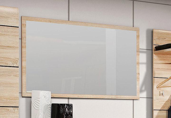 spiegel cambino wandspiegel garderobenspiegel in sonoma denver eiche 120 cm ebay. Black Bedroom Furniture Sets. Home Design Ideas