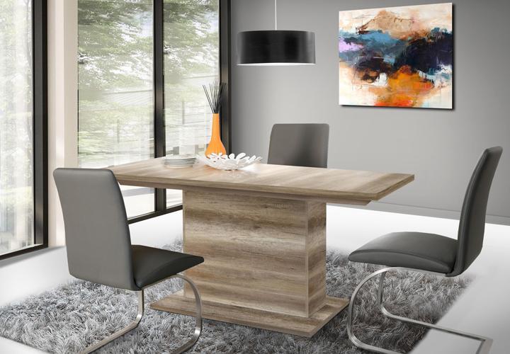 esstisch calpe mit synchronauszug eiche antik. Black Bedroom Furniture Sets. Home Design Ideas