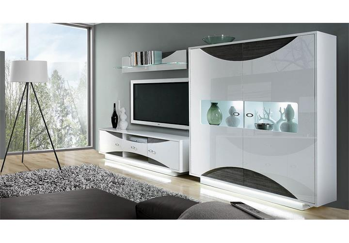 wohnwand eiche grau trendy wohnwand weiss hochglanz eiche mountain with wohnwand eiche grau. Black Bedroom Furniture Sets. Home Design Ideas