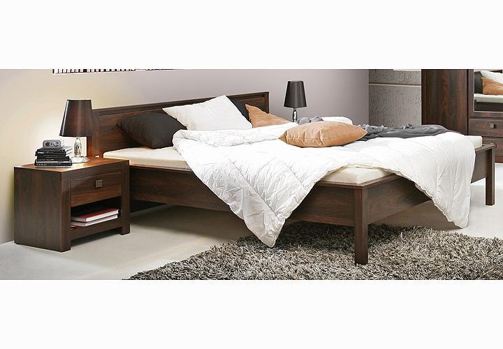 bett indigo doppelbett eiche durance kolonialstil 180x200. Black Bedroom Furniture Sets. Home Design Ideas