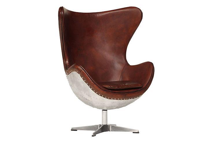 drehsessel ohrensessel aircraft vintage design sessel echt. Black Bedroom Furniture Sets. Home Design Ideas